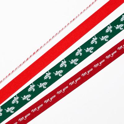 画像1: 〒 リボンセット/ボタニカルクリスマス (1)