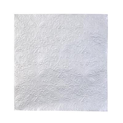 画像1: 〒 紙ナプキン(33cm)シルバーエンボス (1)