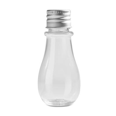 画像1: ミニ・電球ボトル(3個セット)フタ付き/プラ製 (1)