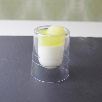 画像1: 二重壁のプラカップ(3個セット) (1)