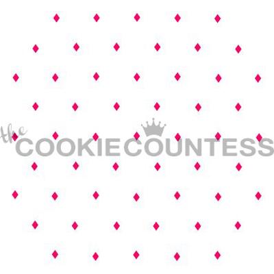画像1: 〒 CC ステンシル/アーガイルチェック(点) (1)
