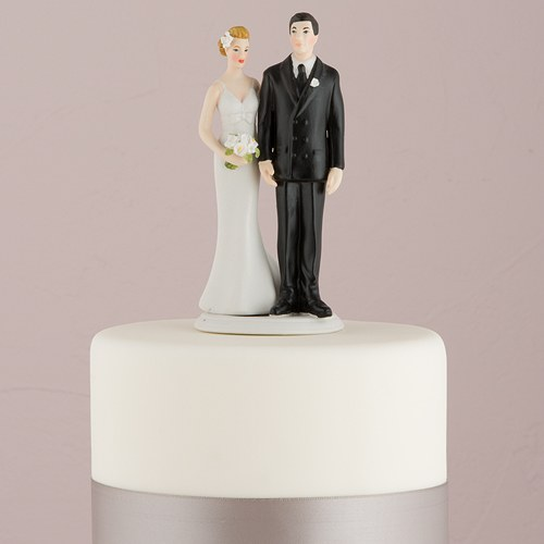 画像1: ウエディングケーキトッパー/お尻をつかむ花嫁 (1)