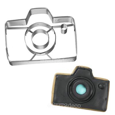 画像1: 〒 クッキー型(BIRKMANN )カメラ(ステンレス) (1)