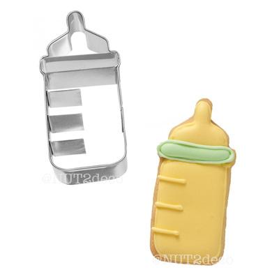 画像1: BIRKMANN クッキー型/哺乳瓶 (ステンレス) (1)
