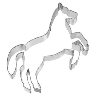 画像1: 〒 クッキー型(BIRKMANN )立ち上がる馬(ステンレス) (1)