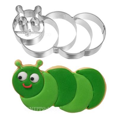画像1: 〒 クッキー型(BIRKMANN )イモ虫(ステンレス) (1)