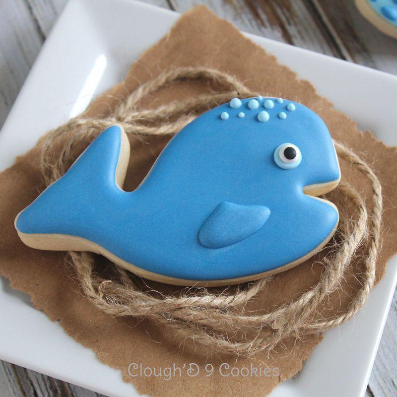 画像1: 〒 クッキー型(Ann Clark)口をあけているクジラ (1)