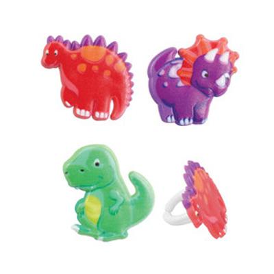 画像1: ケーキリング/恐竜・ダイナソー(3個入) (1)