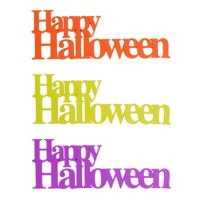 画像1: 〒 ケーキプレート&ピック/Happy Halloween(3個入) (1)