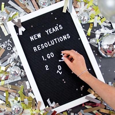 画像1: メッセージレターボード(45x30cm) (1)