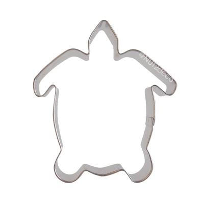 画像1: 〒 クッキー型/ウミガメ (1)