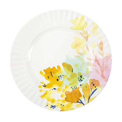 画像1: 紙皿(28cm)ネオンフローラル (1)