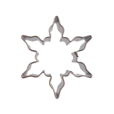 画像1: 〒 クッキー型(Stadter)雪の結晶5cm【ステンレス】 (1)