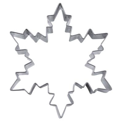 画像1: 〒 クッキー型(Stadter)雪の結晶 9cm【ステンレス】 (1)