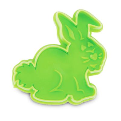 画像1: クッキー型(Stadter)スタンプ(バネ式)ウサギ (1)