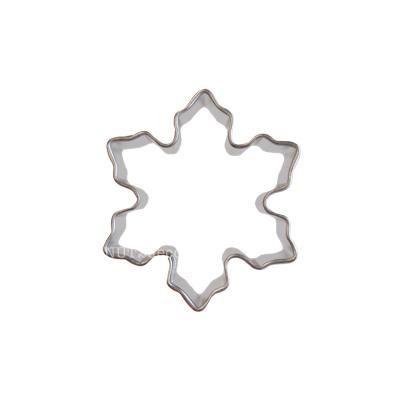 画像1: 〒 クッキー型★ミニ/雪の結晶 (1)