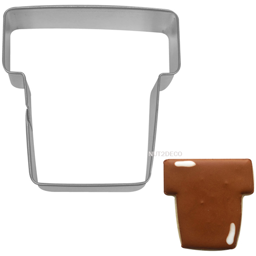 画像1: 〒 クッキー型/植木鉢 (1)
