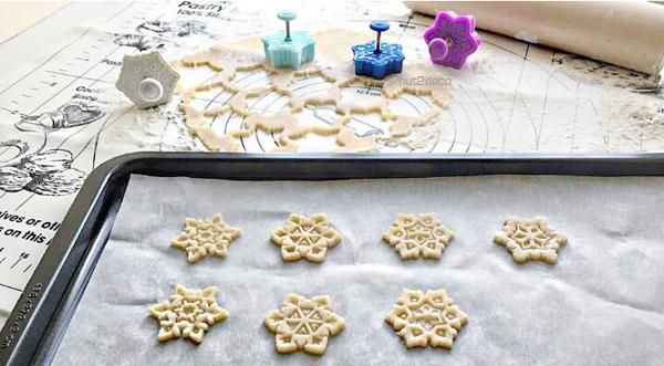 雪の結晶クッキー型