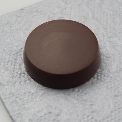 画像1: ポリカーボネート製チョコレート型/丸平(6g) (1)
