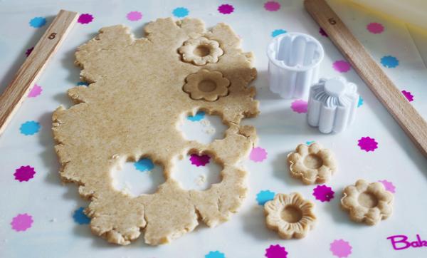 リッバーシブル花クッキー型