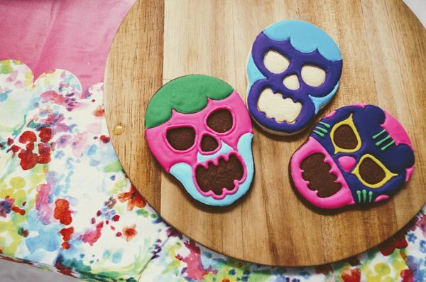 メキシコプロレスアイシングクッキー