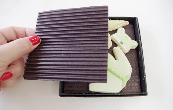 アイシングクッキー貼箱