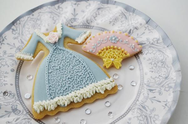 プリンセスアイシングクッキー