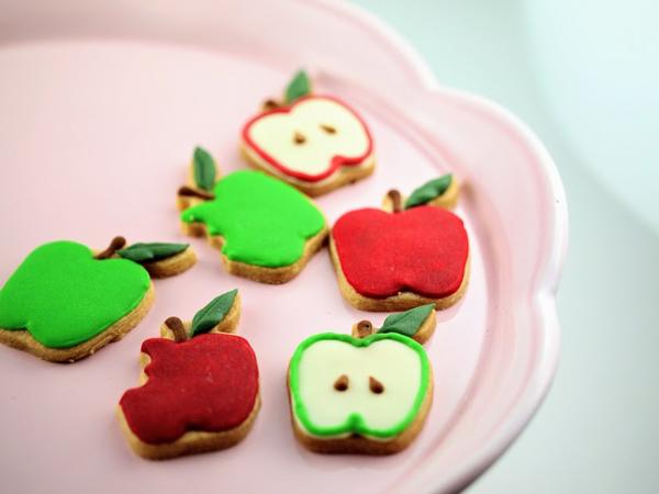 リンゴのクッキー型
