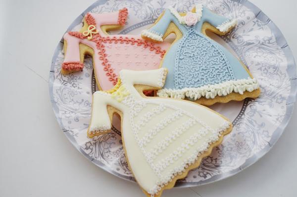 マリーアントワネットアイシングクッキー