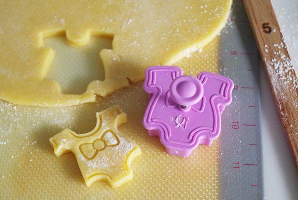 出産祝いアイシングクッキー