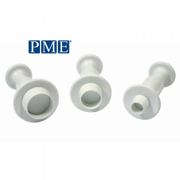 画像1: プッシュ式抜き型(PME)丸型/3個セット (1)