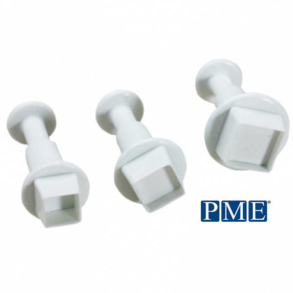 画像1: プッシュ式抜き型(PME)スクエア正方形/3個セット (1)