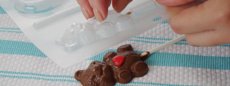 テディベアのチョコレート型