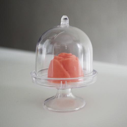 画像1: ショコラなどに最適な「プチケーキスタンド」5個セット (1)