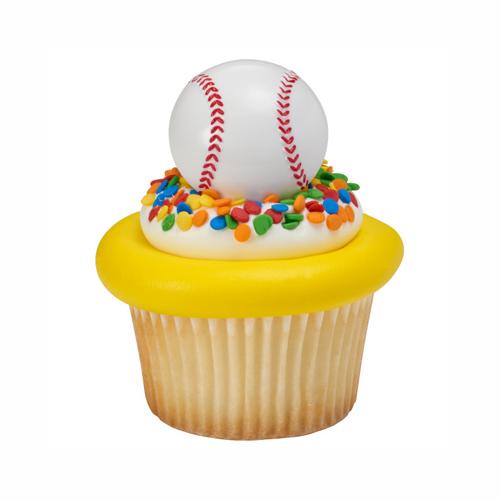 画像1: ケーキリング/野球ボール(3個入) (1)
