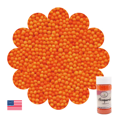 画像1: CK スプリンクル/ノンパレル(オレンジ) (1)