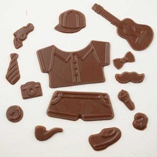 画像1: 〒 CK チョコレート型/ファッションアイテムパーツ (1)
