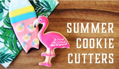 夏アイシングクッキー