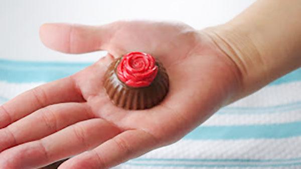 薔薇のチョコレート型