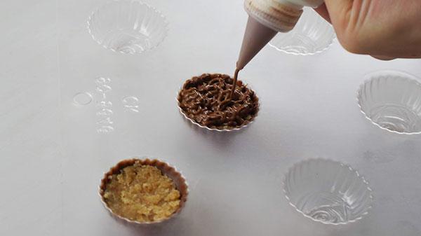 ローズチョコレートの作り方