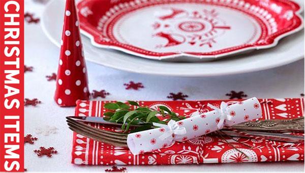 クリスマスの製菓道具デコレーション