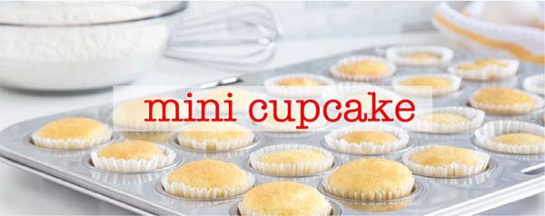 ミニサイズのカップケーキ
