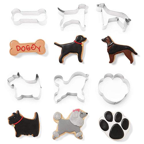 画像1: クッキー型(FoxRun)犬6個セット箱 (1)