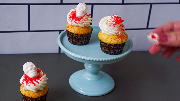 wiltonミニマフィン型ハロウィンカップケーキ