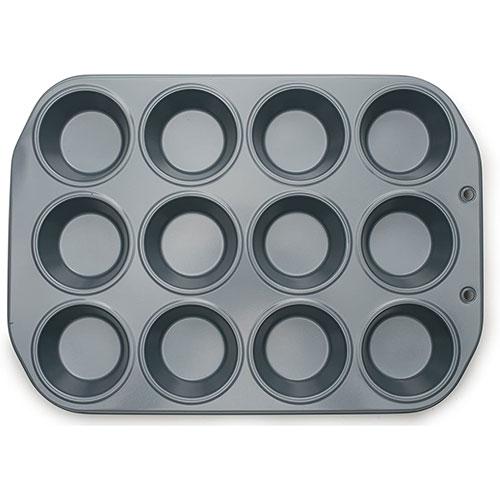 画像1: FoxRun マフィンパン(くっつかない加工済み)12穴 (1)