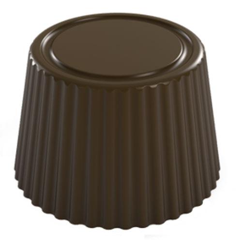 画像1: 〒 ポリカーボネート製 チョコレート型/丸カップ(12g) (1)