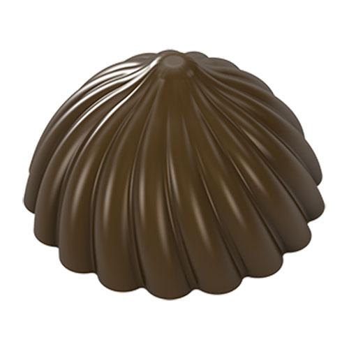 画像1: ポリカーボネート製 チョコレート型/絞り出し622 (1)