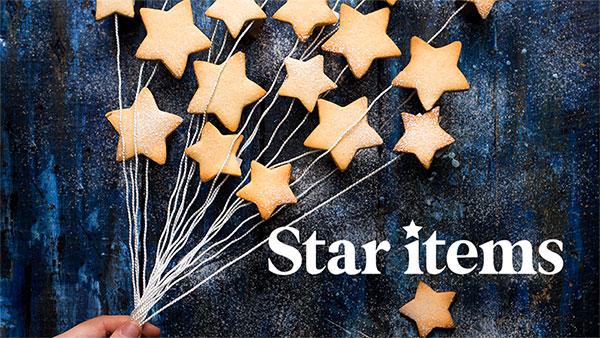 星のクッキー型やチョコレート型