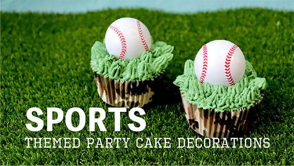 スポーツのケーキデコレーション