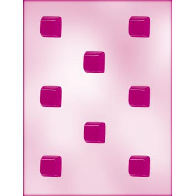 画像1: 〒 CK ボンボンショコラのチョコレート型/スクエア 2,5cm (1)